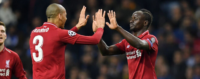 Liverpool dominate Champions League team of the round after dismantling Porto