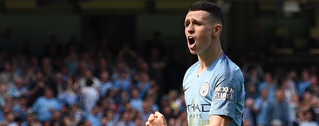 Manchester City starlet Phil Foden makes U21 Team of the Week across Europe