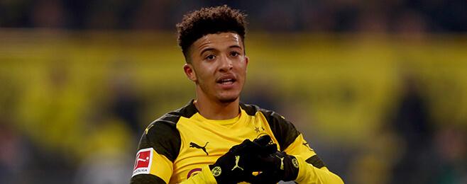 Sancho makes WhoScored's Bundesliga Team of the Season for 2018/19