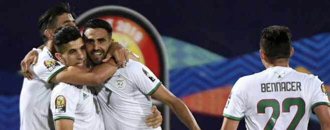 Algeria lead the way in AFCON team of the round