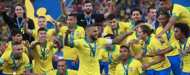 Copa America champions Brazil dominate tournament best XI