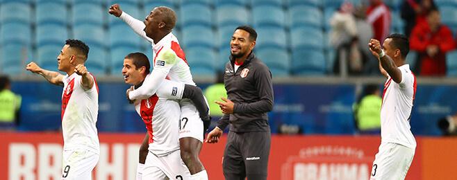 Peru dominate Copa America team of the semi-finals after shock Chile win