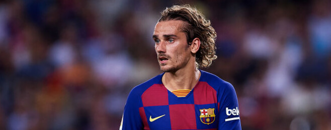Griezmann stars in European best XI after fine home Barcelona debut