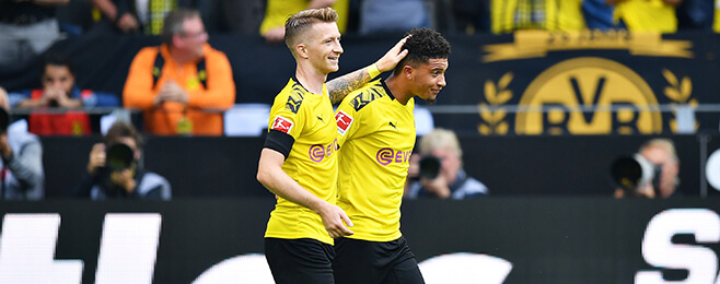 Sancho and Mount feature in U21 Team of the Week across Europe