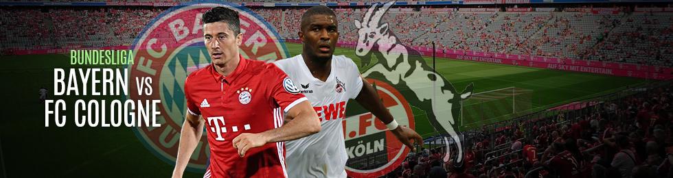 Bayern Munich-FC Cologne